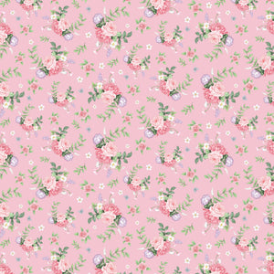 Little Wren Cottage - Floral - Pink