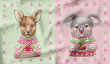 Load image into Gallery viewer, Aussie Friends Festive Fun Christmas Sack