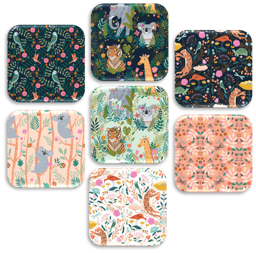 Our Planet Fat Quarter Bundle – 7 pieces