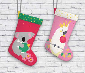 Festive Friends Stocking - Koala