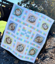 Load image into Gallery viewer, Native Nursery Nine Patch Quilt Kit
