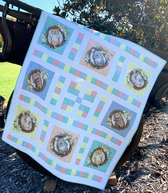 Native Nursery Nine Patch Quilt Kit