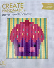 Load image into Gallery viewer, Create Handmade Starter Long-Stitch Kit - Cupcake