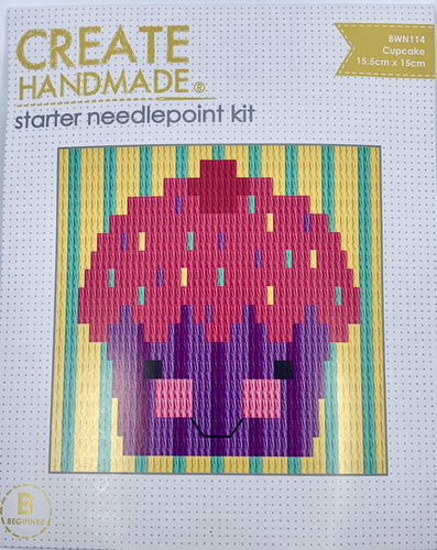 Create Handmade Starter Long-Stitch Kit - Cupcake