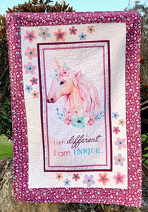 Unique Unicorn Panel Quilt Kit