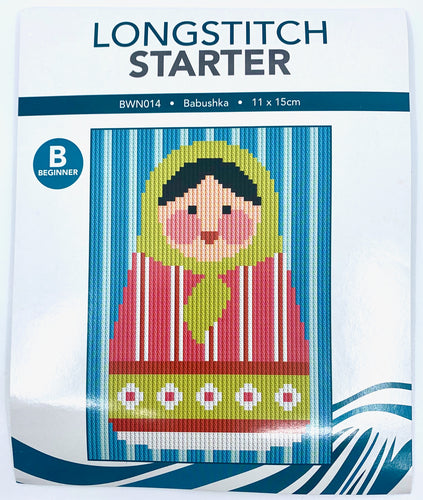 Create Handmade Starter Long-Stitch Kit - Babushka