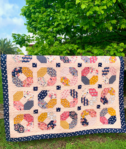 Golden Charms Quilt Kit