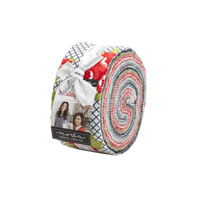 Sunday Stroll 2.5 inch Jelly Roll - 40 pieces
