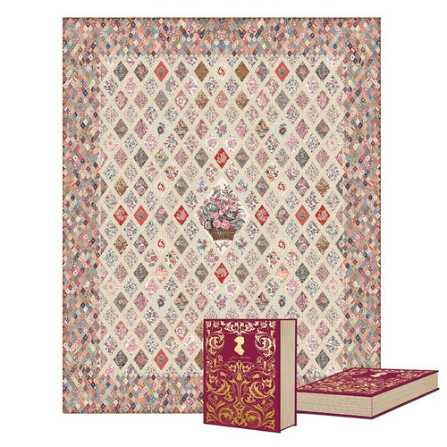 Jane Austen Coverlet Quilt Kit