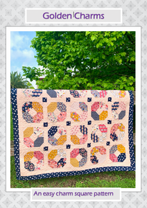 Golden Charms PDF Quilt Pattern