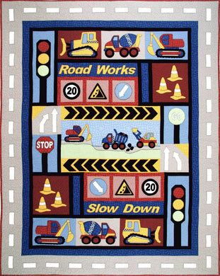 Poppa's Digger from Kids Quilts