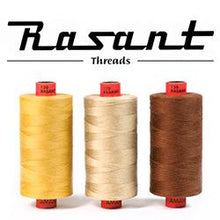 Load image into Gallery viewer, Rasant 1000m Cotton Thread - Lemon Yellow