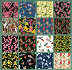 Robyn Hammond Collection Fat Quarter Bundle - 16 pieces