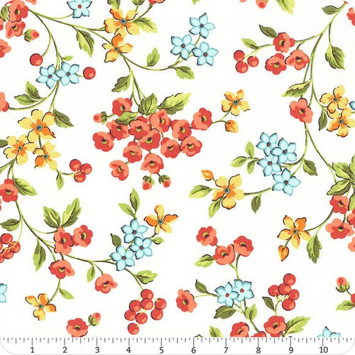 Roseberry Cottage - White Floral
