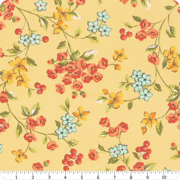 Roseberry Cottage - Yellow Floral