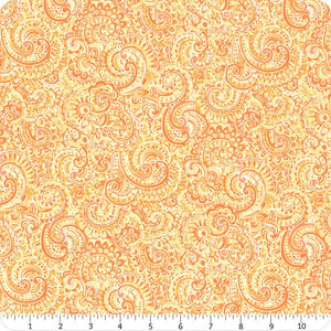 Roseberry Cottage - Orange Paisley