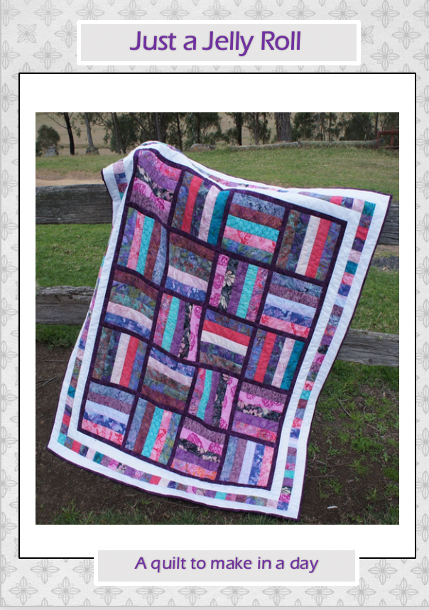 Just a Jelly Roll PDF Quilt Pattern - Free!
