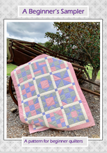 Load image into Gallery viewer, A Beginner's Sampler PDF Quilt Pattern