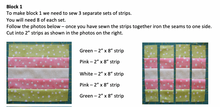 Load image into Gallery viewer, Baby Daisy Irish Chain PDF Quilt Pattern