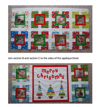 Load image into Gallery viewer, A Family Christmas PDF Quilt Pattern