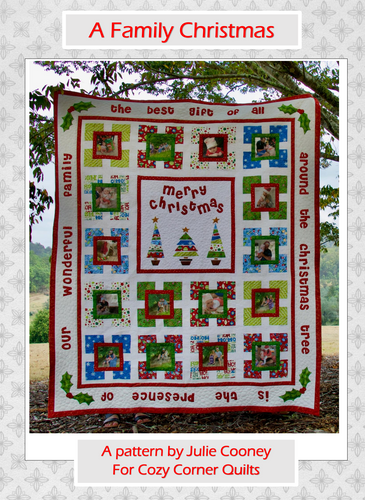 A Family Christmas PDF Quilt Pattern
