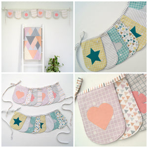 Applique Bunting Paper Pattern