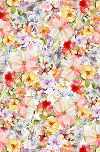 "Arabesque - Bright Pastels - 108"" (sold by 1/2 metre)"