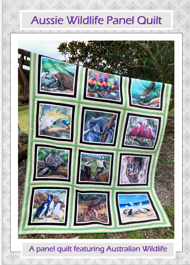 **FREE** Aussie Wildlife Panel Quilt PDF Pattern