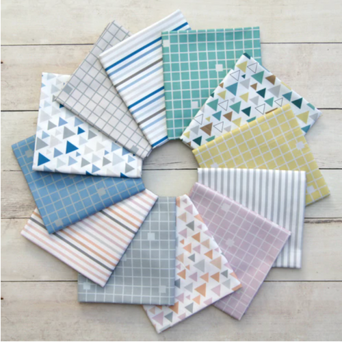 Baby on Trend Fat Quarter Bundle – 12 pieces