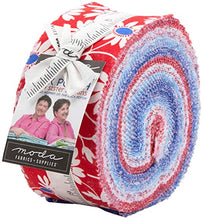 Load image into Gallery viewer, Moda Back Porch 2.5 inch Jelly Roll - 40 pieces