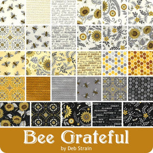Bee Grateful - Charm Squares