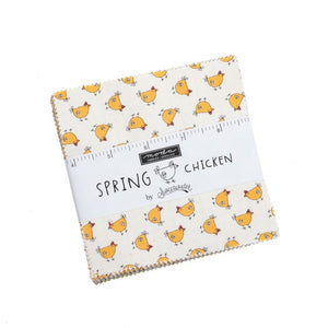 Spring Chicken - Charm Squares