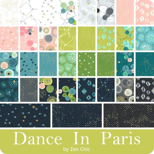 Dance in Paris - Charm Squares