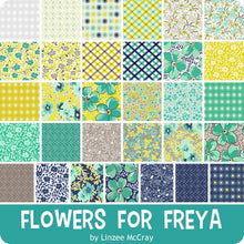 Load image into Gallery viewer, Flowers for Freya 2.5 inch Jelly Roll - 40 pieces