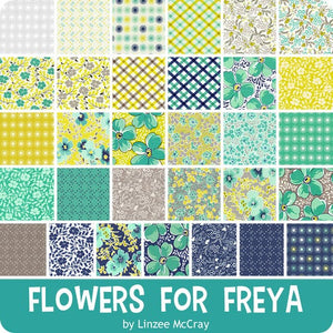 Flowers for Freya 2.5 inch Jelly Roll - 40 pieces