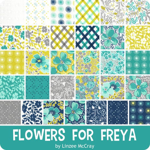 Flowers for Freya Layer Cake from Moda