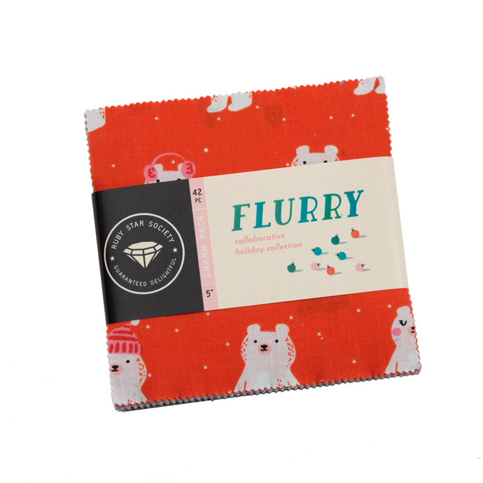 Moda Ruby Star Society Flurry Charm Squares