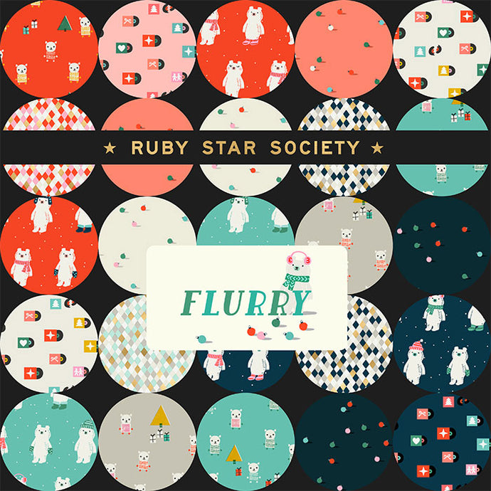 Moda Ruby Star Society Flurry Junior Layer Cake
