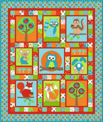 Forest Friends from Kids Quilts