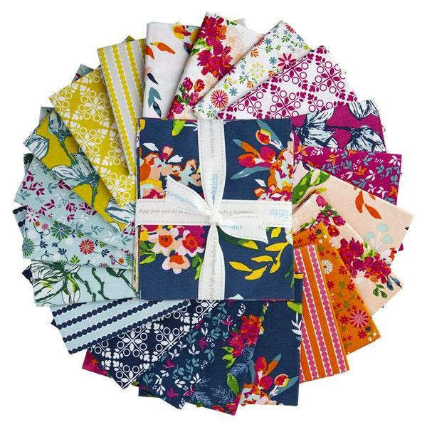 Garden Party Fat Quarter Bundle – 21 pieces