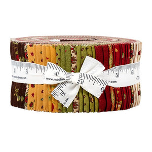 Moda Glad Tidings 2.5 inch Jelly Roll - 40 pieces