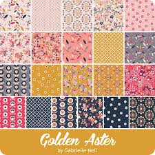 Golden Aster 5 inch stacker – 42 pieces
