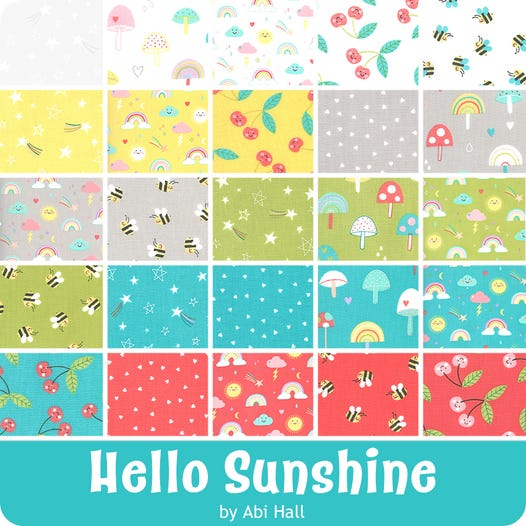 Hello Sunshine - Charm Squares (coming soon)