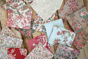 Jane Austen at Home Fat Quarter Bundle – 20 pieces