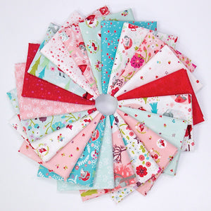 Little Red in the Woods Fat Quarter Bundle - 21 pieces