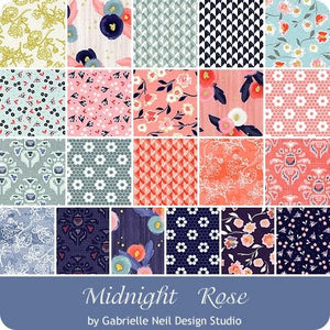 Midnight Rose 5 inch stacker – 42 pieces