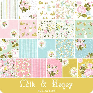Milk & Honey Fat Quarter Bundle – 21 pieces