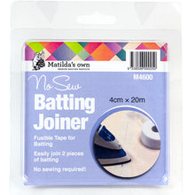 Load image into Gallery viewer, Matilda's Own No Sew Batting Joiner 4cm x 20m