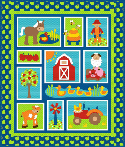 On the Farm from Kids Quilts
