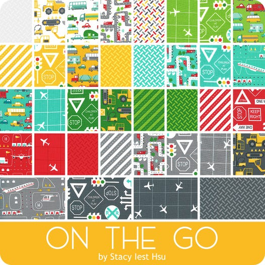 On the Go - Charm Squares